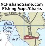 NCFishandGame.com -- Fishing and Hunting Maps, Charts, and Books