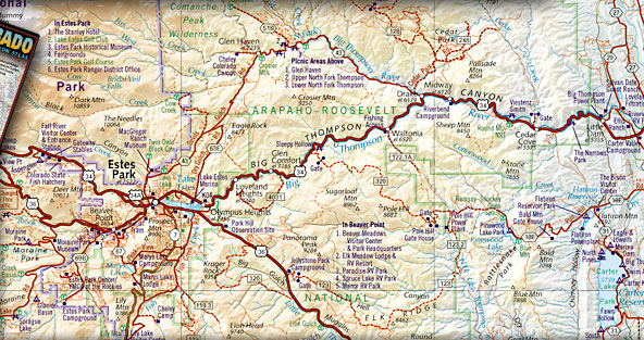 Colorado Fishing Maps, Trout Fishing Books, and CO Fishing and Hunting