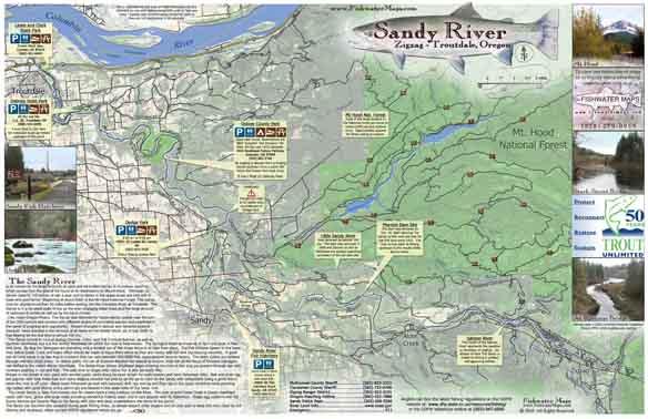 Oregon Fishing And Or Fishing Maps