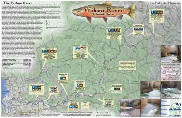 Oregon Fishing And OR Fishing Maps - Oregon river maps