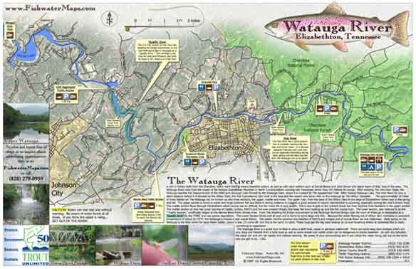Tennessee Fishing Maps And TN Fishing - Tn lakes map