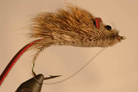 A mouse fly for Largemouth Bass Fishing