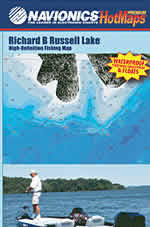 South carolina fishing and sc fishing maps for Lake hartwell fishing hot spots