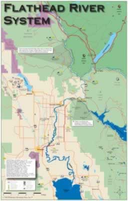 Fly Fishing Montana And Montana Fishing Maps And River Maps - Map Of Us River Systems