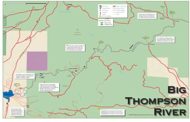 Colorado Maps, Trout Books, and CO ... on
