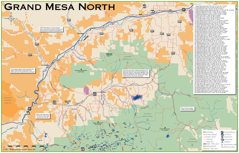 Colorado Fishing Maps Trout Books And Co Hunting: Dream Stream Colorado Map At Slyspyder.com