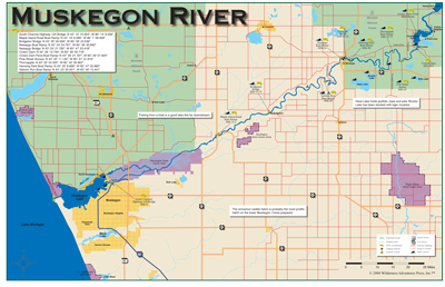 Michigan Fly Fishing and River Books and Maps