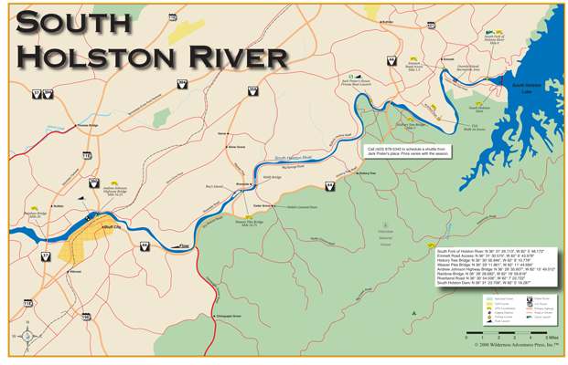 Tennessee Fishing Maps And TN Fishing - Tn river map