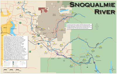 Image gallery snoqualmie map for Snoqualmie river fishing