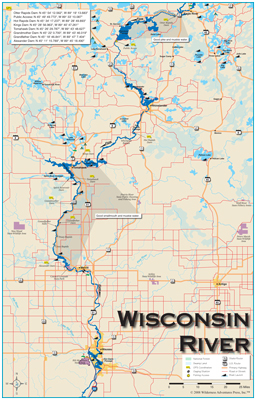 Wisconsin Fly Fishing Maps Books And Info
