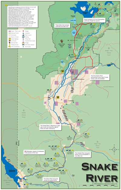 Hunting And Fishing Plus Sporting Maps Of Wyoming